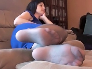 Mature's Nylon Feet