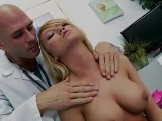 Doctor has Serious ERection For Smoking Patient