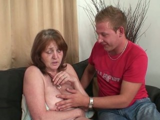 He invades his mother inside law after shower