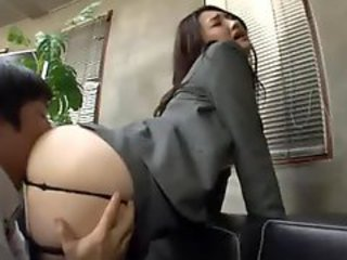 Ass, Boobs, Busty, Couch, Lady, Office