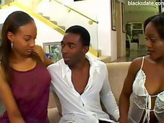 Big Black Cock, Ebony, Facial