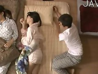 Asian Family Japanese Sleeping Teen