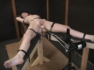 Bondage increased by fucking machines (hailey) -11