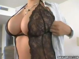 Amazing Big Tits Lingerie MILF Pornstar Stripper