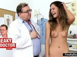 Daddy Doctor Old and Young Skinny Teen