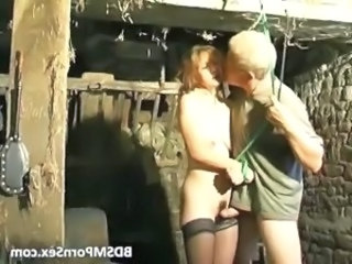 Blonde guy fucks and tortures his horny part2