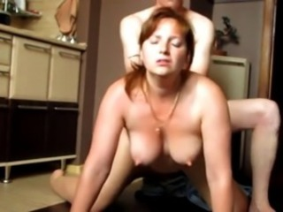 Redhead girl fucked doggy style