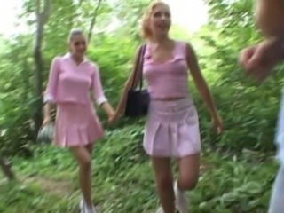 Pretty in pink - Andy and Polina