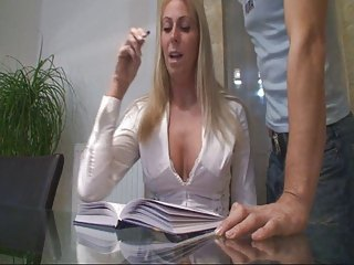 german blond bitch table fuck