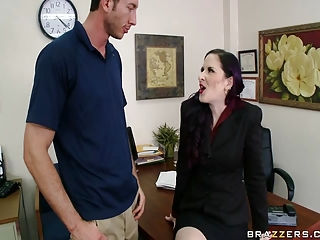 Brazzers - Milf has big tits and gets fucked by big cock