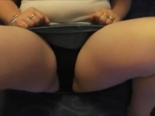 Cum on my upskirt panties