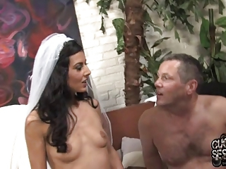 Just spoken for Bride creampied by black in front of fiance