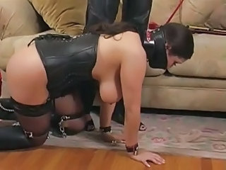 Tribadic BDSM Breast Slap Tit Slap nipple clamps