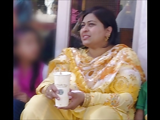 Cum Tribute to a SEXY Paki Aunty