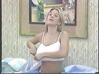 Silvia Irabien aka La Chiva Big Brother Tit Slip and Thong