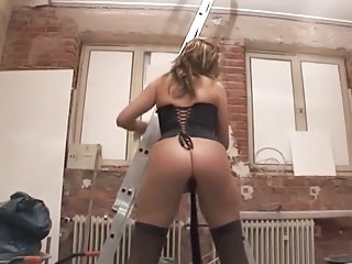 Double penetration sur un chantier