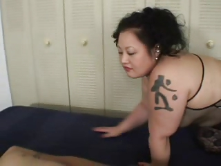 Sexy Big Heavy Japan BBW Fucks A Run through Guy