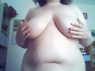 BBW Natural SaggyTits Webcam