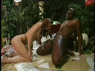 Big cock Blowjob Interracial MILF Pornstar