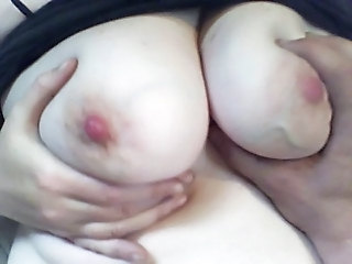 CUM on Hairy 2 Month Pregnant PUSSY