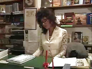 vanessa at the office