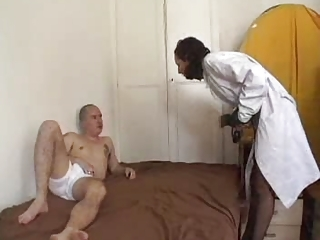 Nice french arabian nurse