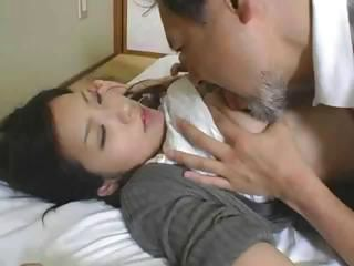 Glamorous slut with a wide-eyed meat muffin fucks his rising cedar
