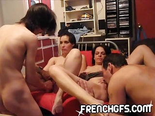 Amateur Groupsex Licking Swingers