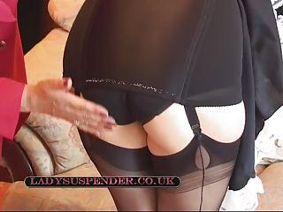 Cleaning day spanking
