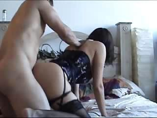 Amateur Doggystyle Homemade Lingerie Wife