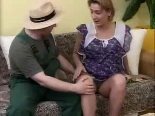 Gardener Fucks Bored Housewife wide of snahbrandy