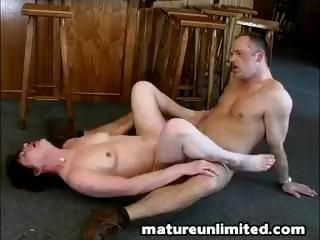 Chubby mom gets her wish together with gets a on the mark hard have sex from behind