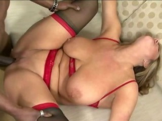 Big Tits Chubby Hardcore Interracial Mature Mom Natural  Stockings