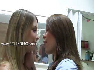 Two Hot Lezzies Licking Pussies