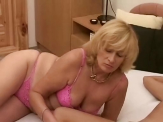 Chubby Lingerie Mature Mom Panty