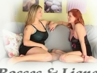 Two hot girls play sex game round a Ma-holeive toy