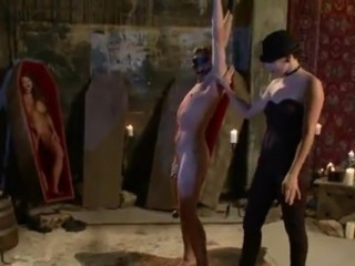 Dominated chap has Tortured And moth Sitted inside crazy female domination...