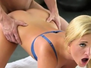 Sexy Babe Gets Fucked Doggystyle By The Gym Teacher