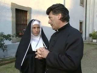 Daddy European Italian Nun Old and Young Uniform Vintage