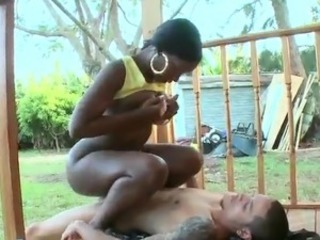 Perfectly Shaped African gal takes the thing And has orgasmed onto Their way asshole