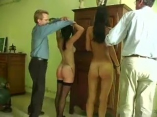 Spanking Two French Girls free