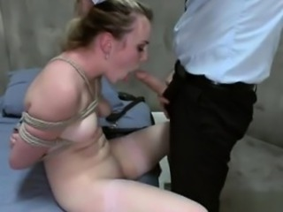 Clumsy allure extreme throat fuck