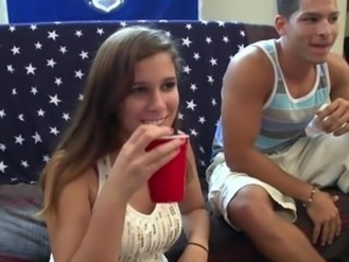 Amateur Drunk Party Student Teen