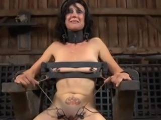 Pork dagger torture for beautys snatch