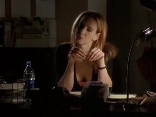 Faith Salie cleavage seen in WILD THINGS II 2004