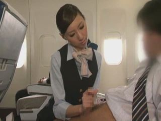 Handjob Airline SP - Sex Airline SP Part 4