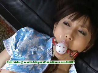 Akari Satsuki naughty Chinese girl is booked and gets a facial