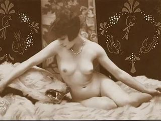 Vintage Nude Pinup Photos c. 1900