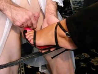 White Roses Foot Fetish