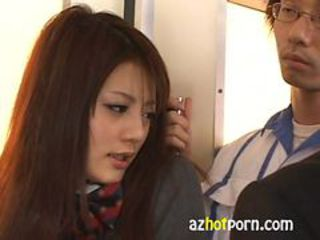 AzHotPorn.com - Public fucking Pervert on the bus